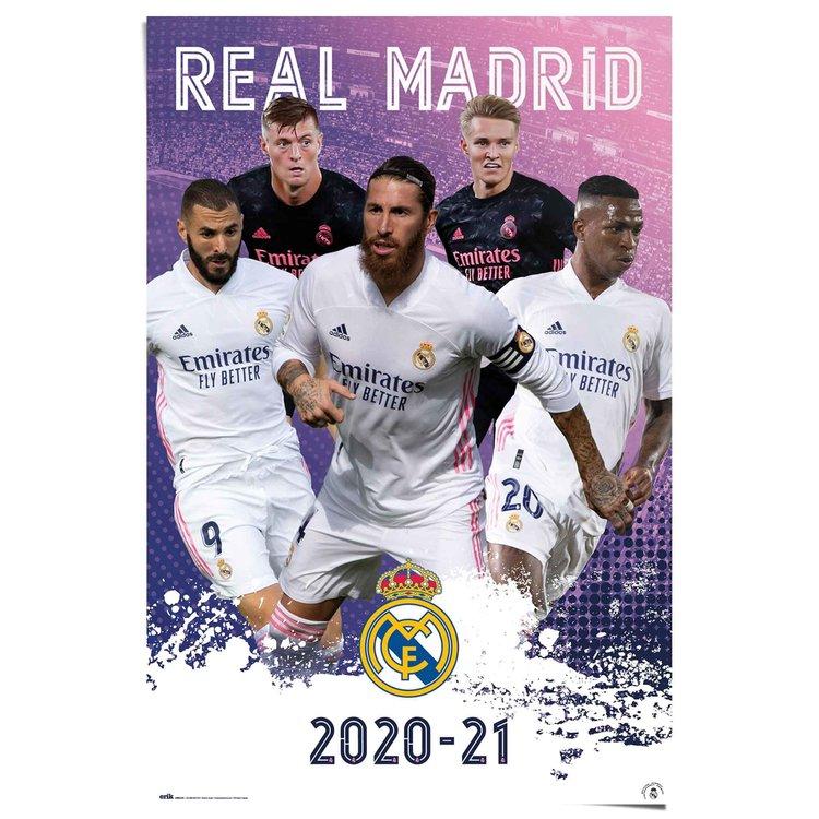 Voetbal Sterspelers  - Poster 61 x 91.5 cm Papier