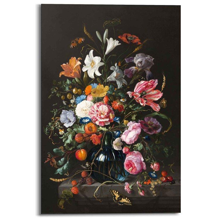 Vaas met bloemen Jan Davidsz de Heem - Schilderij 60 x 90 cm