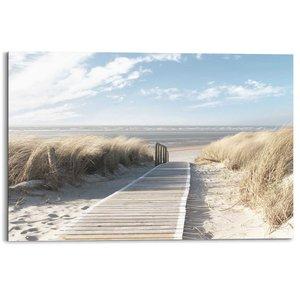 Schilderij Pad door de duinen