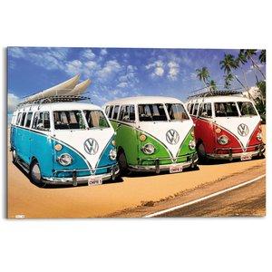 Schilderij Volkswagen camper