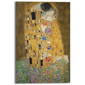 Schilderij Gustav Klimt De Kus