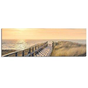 Schilderij Strandpad