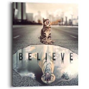 Schilderij Believe