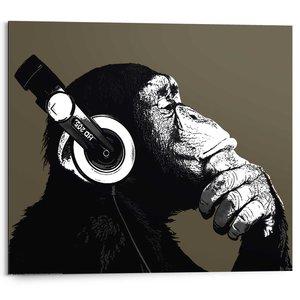 Schilderij Chimpansee