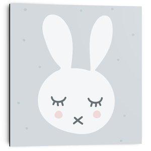 Schilderij Slapend konijntje