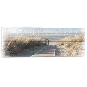 Schilderij Noordzee duinen