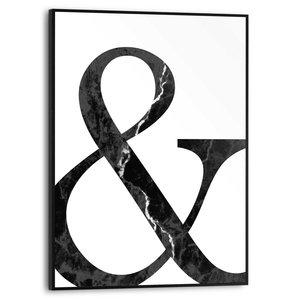 Schilderij Ampersand