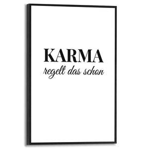 Schilderij Karma