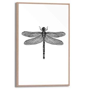 Schilderij Libelle