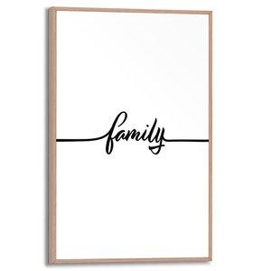 Schilderij Family