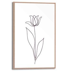 Schilderij Tulp