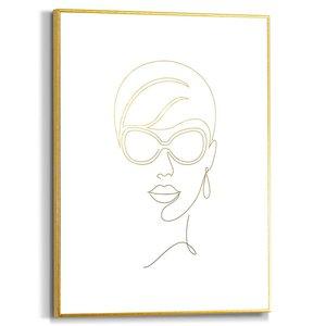 Schilderij Moderne vrouw