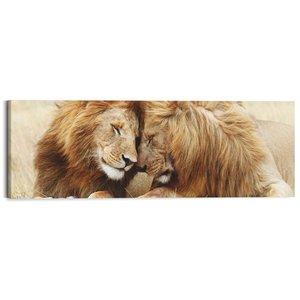 Schilderij Leeuwenpaar