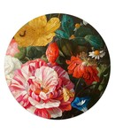 Glasschilderij rond Jan Davidsz de Heem