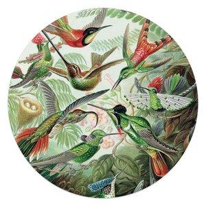 Glasschilderij rond Hummingbirds