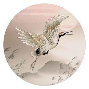 Schilderij Kraanvogel