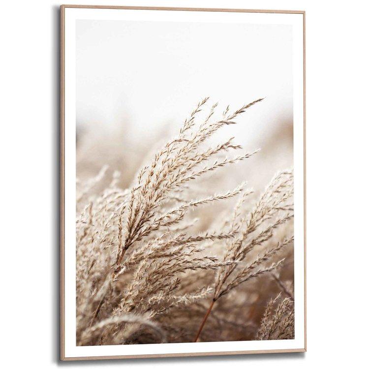 Strand - Zee - Duinen  - Schilderij Slim Frame 50 x 70 cm MDF