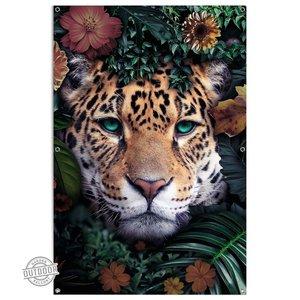 Tuinposter Jungle luipaard
