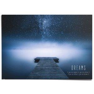 XXL Poster Verwezenlijk je dromen!