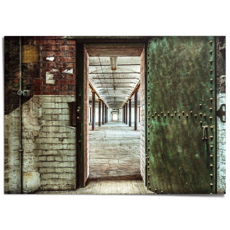 Verlaten fabriek Urban - Industrie - Verlaten Oorden - XXL Poster 140 x 100 cm