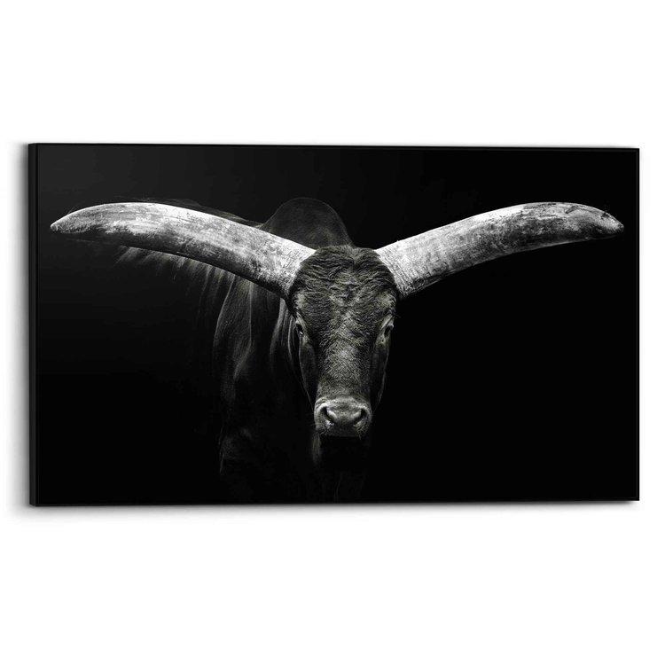 Os Dier - Stier - Koe - Hoorns - Art Frame Art Frame 118 x 70 cm MDF