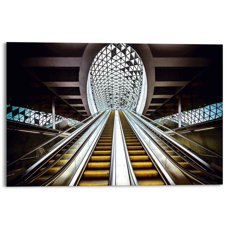 Futuristische roltrap Traptreden - Modern - Industrieel - Acrylglas 120 x 80 cm Plexiglas