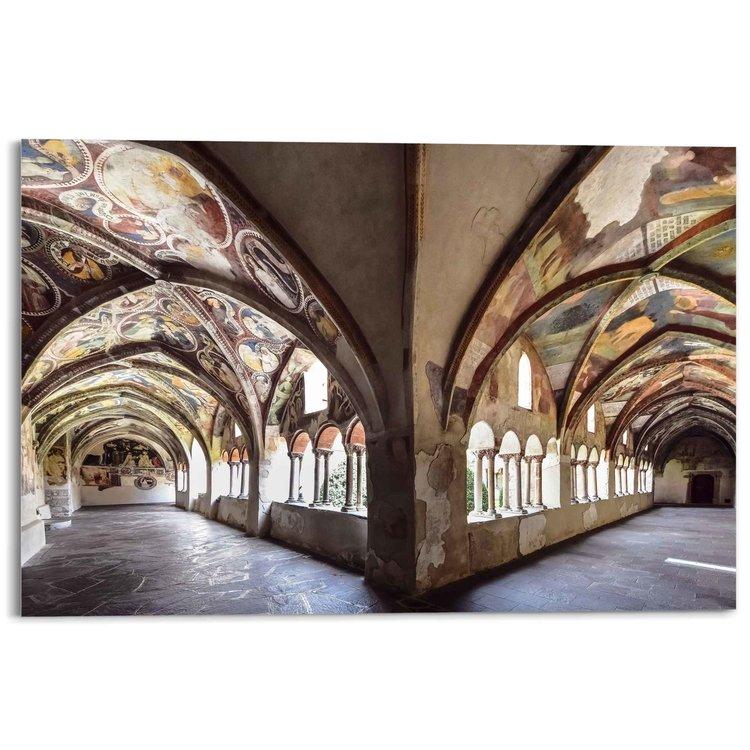 Dom van Brixen Kathedraal - Oostenrijk - Kleurrijk - Gebouw - Acrylglas 120 x 80 cm Plexiglas