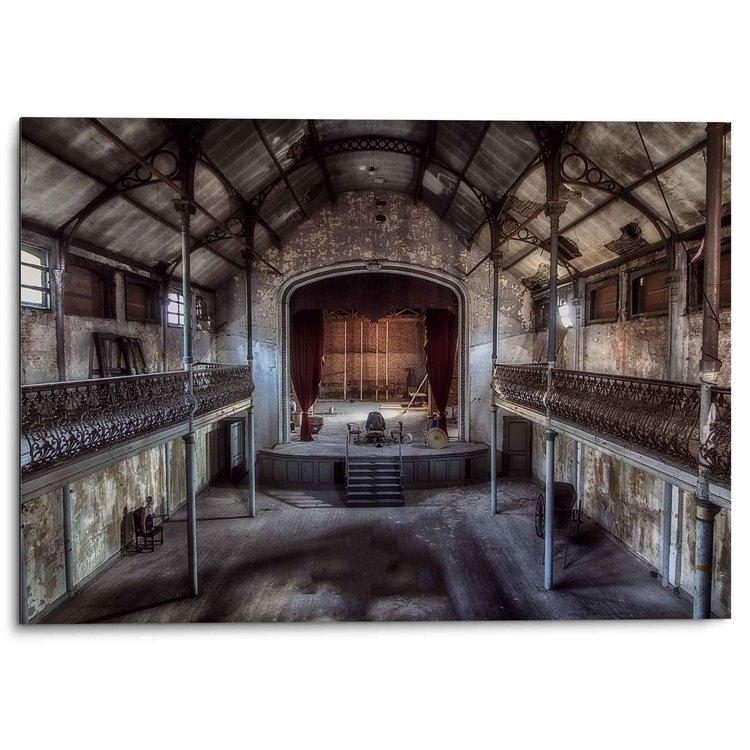 Het Podium Oud Theater - Urban - Vintage - Alu-Dibond