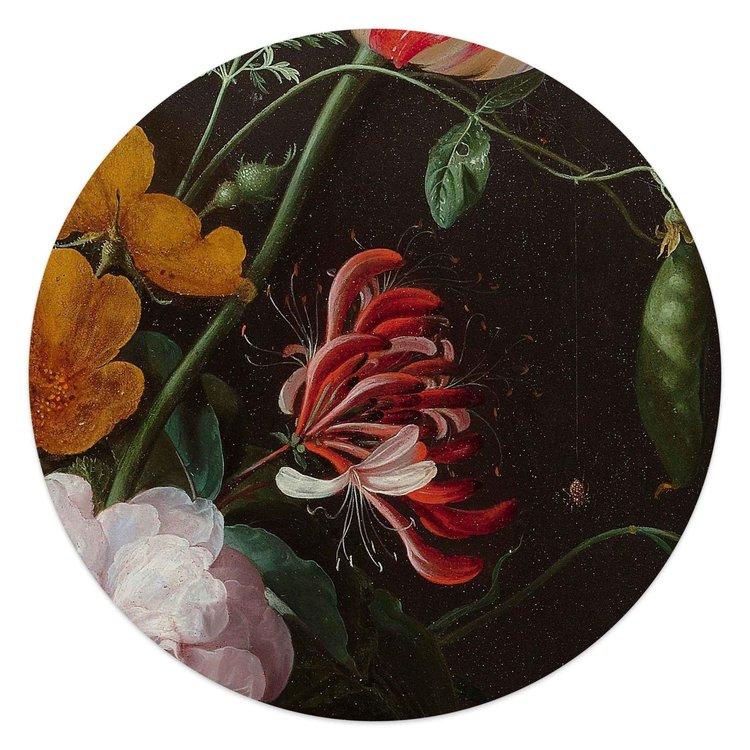 Stilleven met bloemen Jan Davidsz de Heem - Detail - Oude Meester - Rijksmuseum - Acrylglas Plexiglas