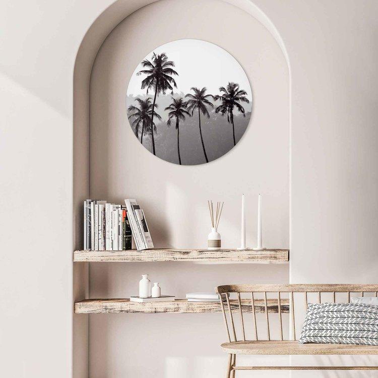 Palmbomen Natuur - Tropisch - Bos - Acrylglas Plexiglas