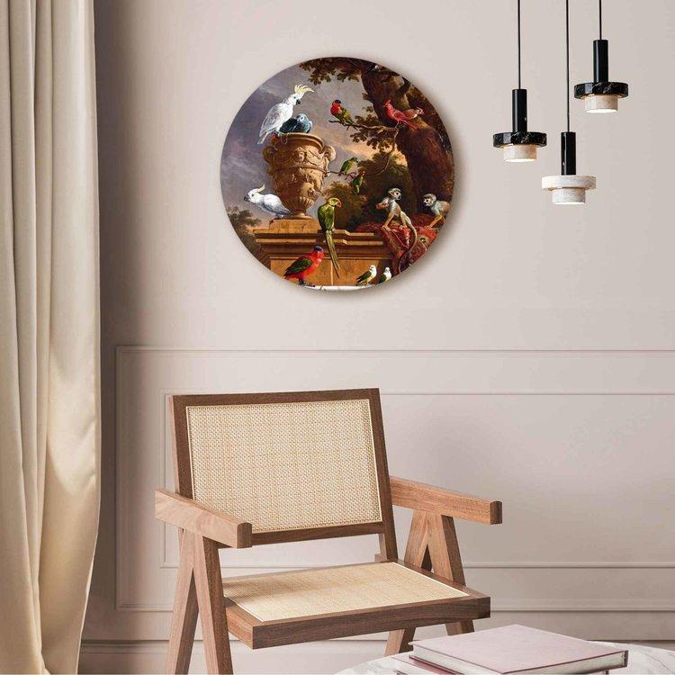 Melchior d´Hondecoeter Rijksmuseum - Oude Meester - exotische vogels  - Acrylglas Plexiglas