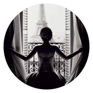 Acrylglas Vrouw in Parijs