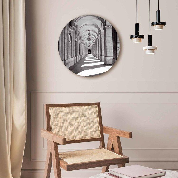 Het portaal Gebouw - Fotografie - Kunst - Architectonisch - Acrylglas Plexiglas