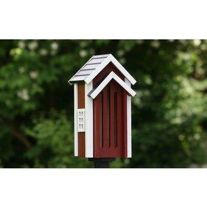Wildlife Garden Maison à papillons rouge