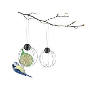 Eva Solo Support à boule de graisse pour oiseaux - Lot de 2