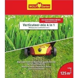 Wolf Garten Mélange pour scarification 4 en 1 V-MIX 125.
