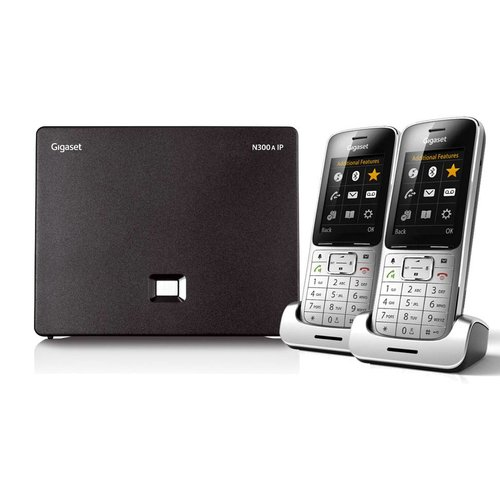 Gigaset Gigaset SL450 IP Bundel (SL450DUOSILVER)