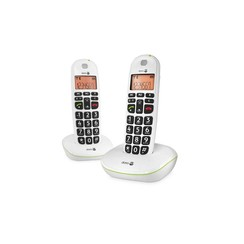 Doro PhoneEasy 100w Duo Dect wit