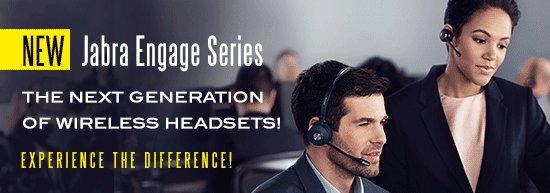 Jabra Engage, een nieuwe lijn draadloze headsets gelanceerd