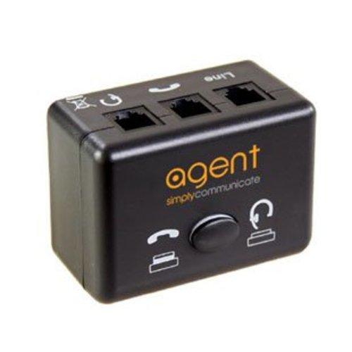 Agent Agent Handset - Headset Switch voor alle merken (AG22-0085)
