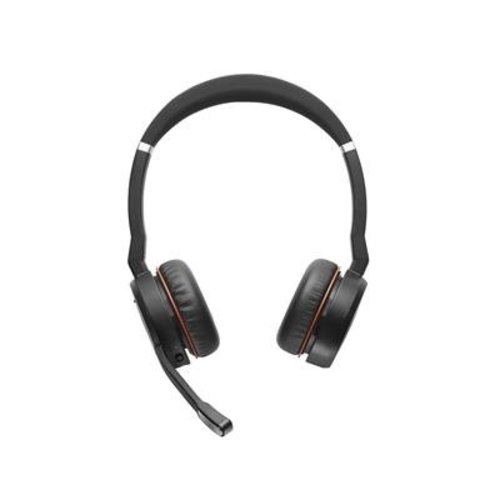 Jabra Jabra Evolve 75 MS  Stereo draadloze bluetooth headset met Active Noise Cancelling