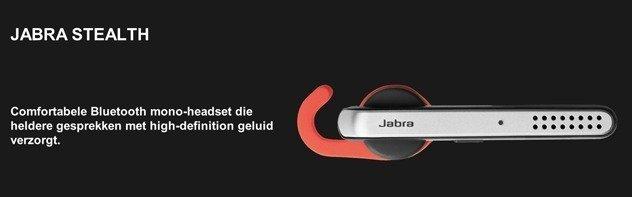 Nieuw! Jabra Stealth UC headset