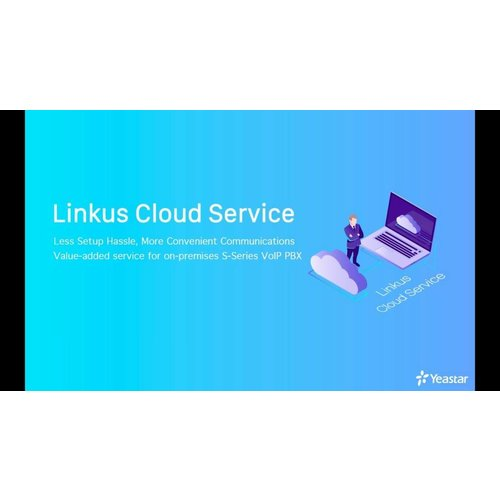 Yeastar Yeastar Linkus Cloud Service (jaarlijks) (LCSS300)