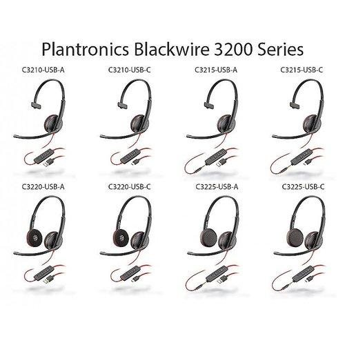 Plantronics Plantronics Blackwire C3215 USB-A headset
