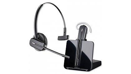Vrijblijvend een Plantronics draadoze headset testen