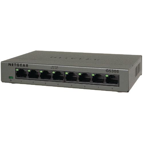 Netgear netwerk producten Netgear GS308P 8 poorts switch met 4x PoE