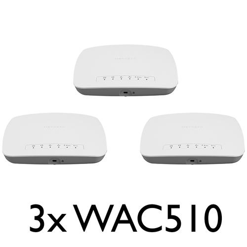 Netgear netwerk producten Netgear 3 Pack Bundle WAC510 B