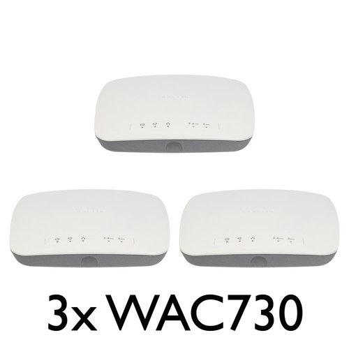 Netgear Netgear 3 Pack Bundle WAC730
