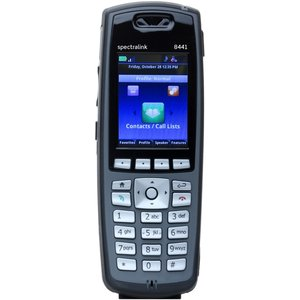 Spectralink 8441 zwart excl. batterij/adapter (m/Lync)