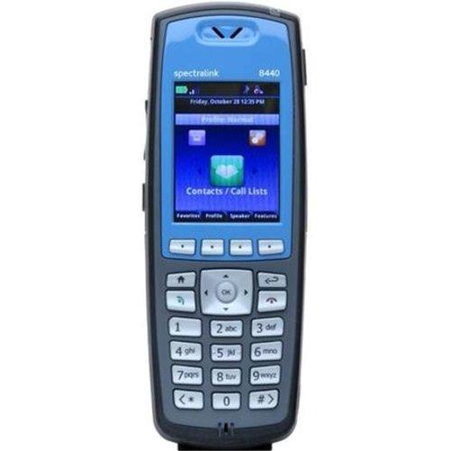Spectralink Spectralink 8440 WiFi blauw, excl. batterij/adapter (Skype for Business)